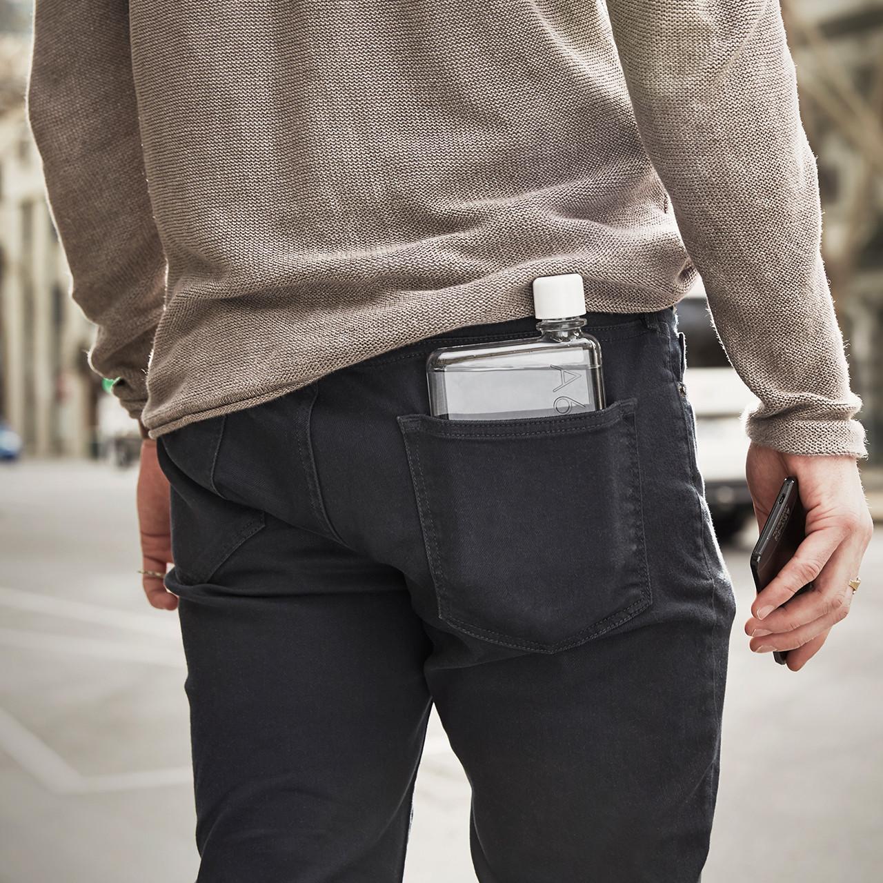 a6 memobottle back pocket