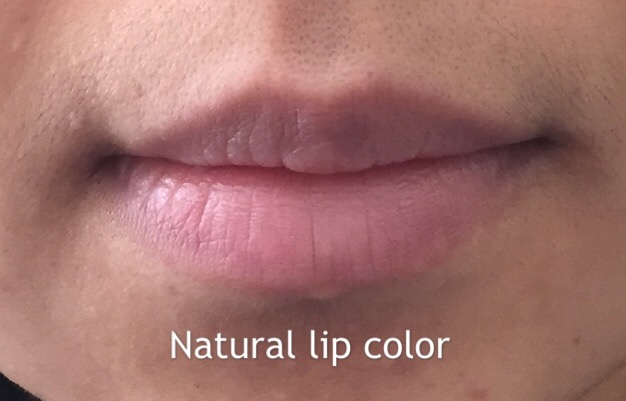 natural lip color