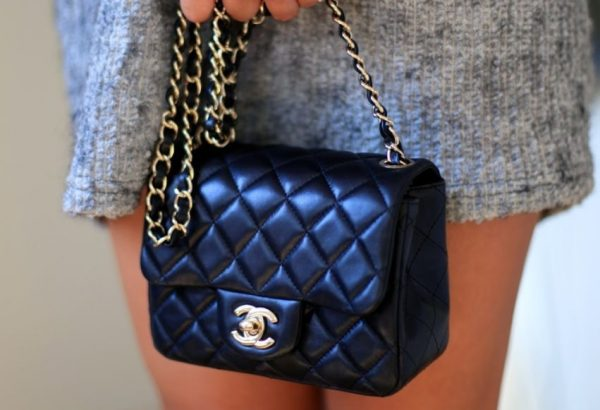 Chanel mini rectangle lambskin