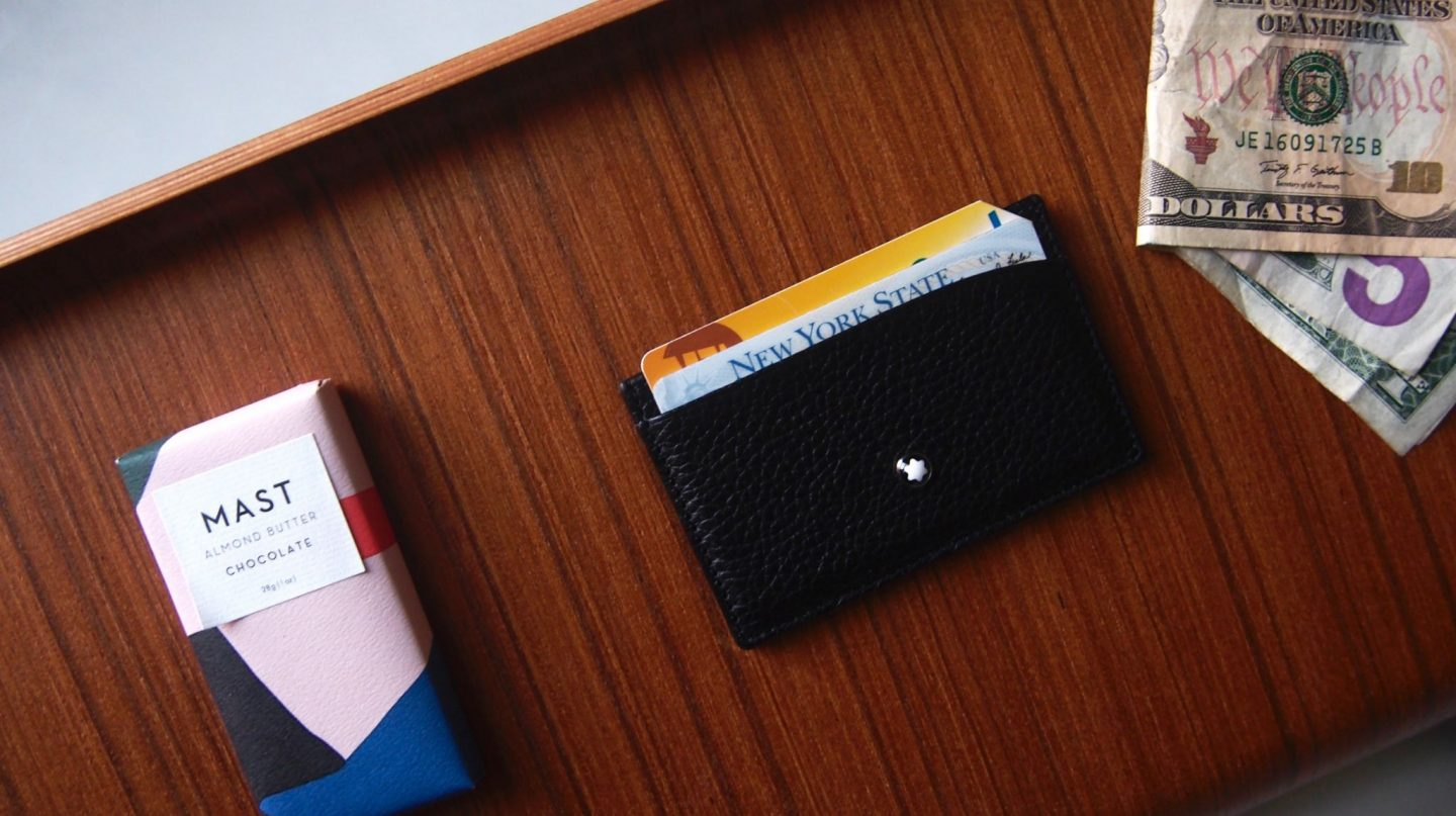 mont blanc card case