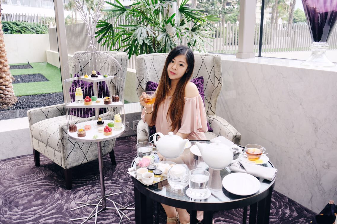 sincerelyophelia nyc petite fashion blogger la gourmandise at st. regis bal harbor