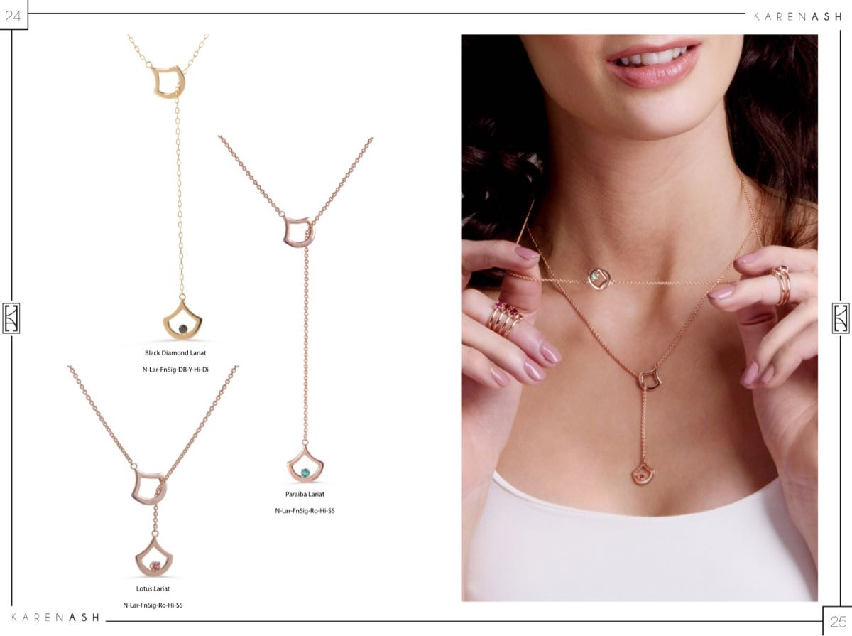 karenash lariat necklace
