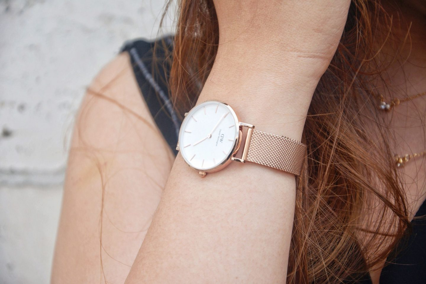 DW classic petite melrose on arm