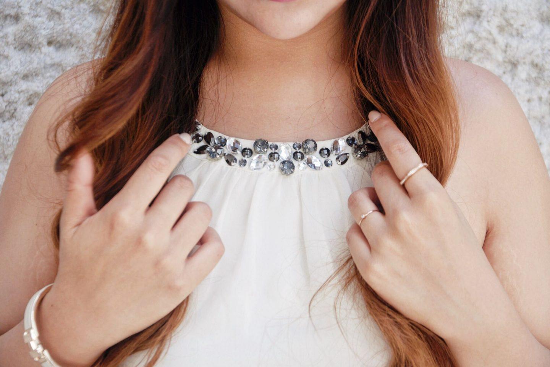 embellished halter collar rhinestones hermes bracelet