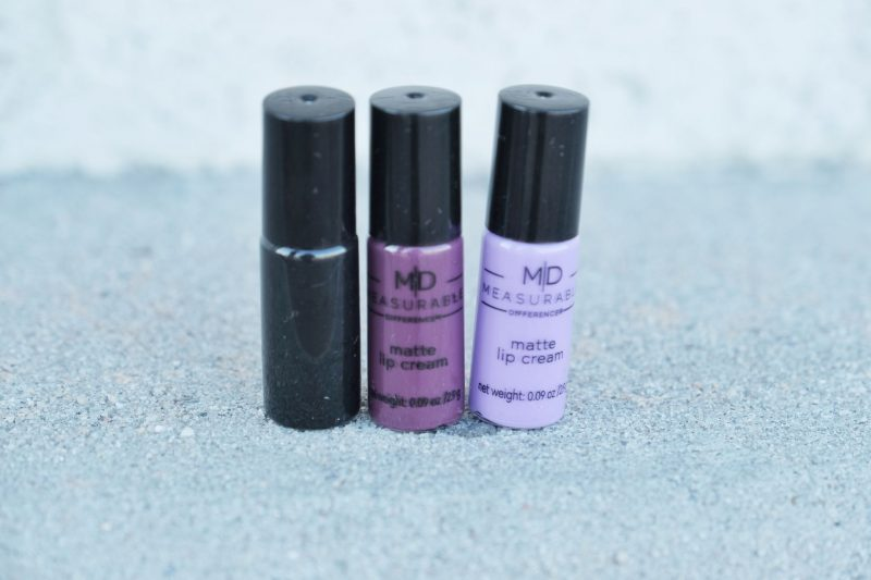 measurable difference matte purple black colors