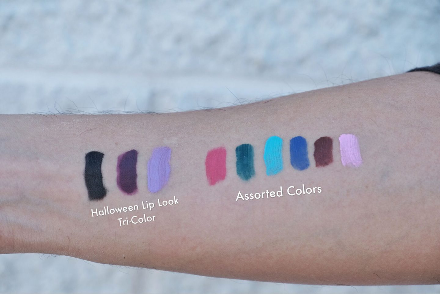 measurable difference matte lipstick swatches