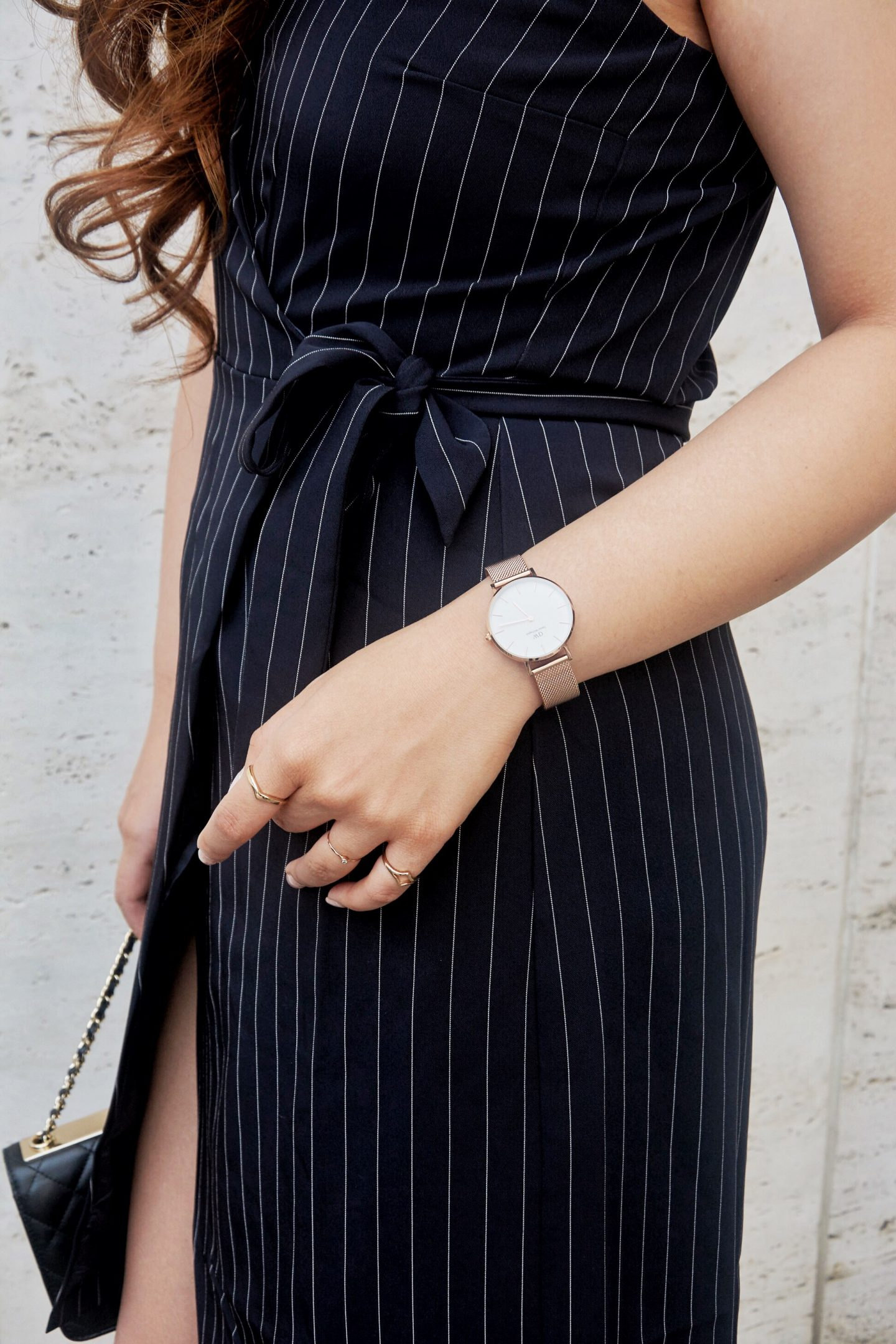 dw classic petite watch wrap dress