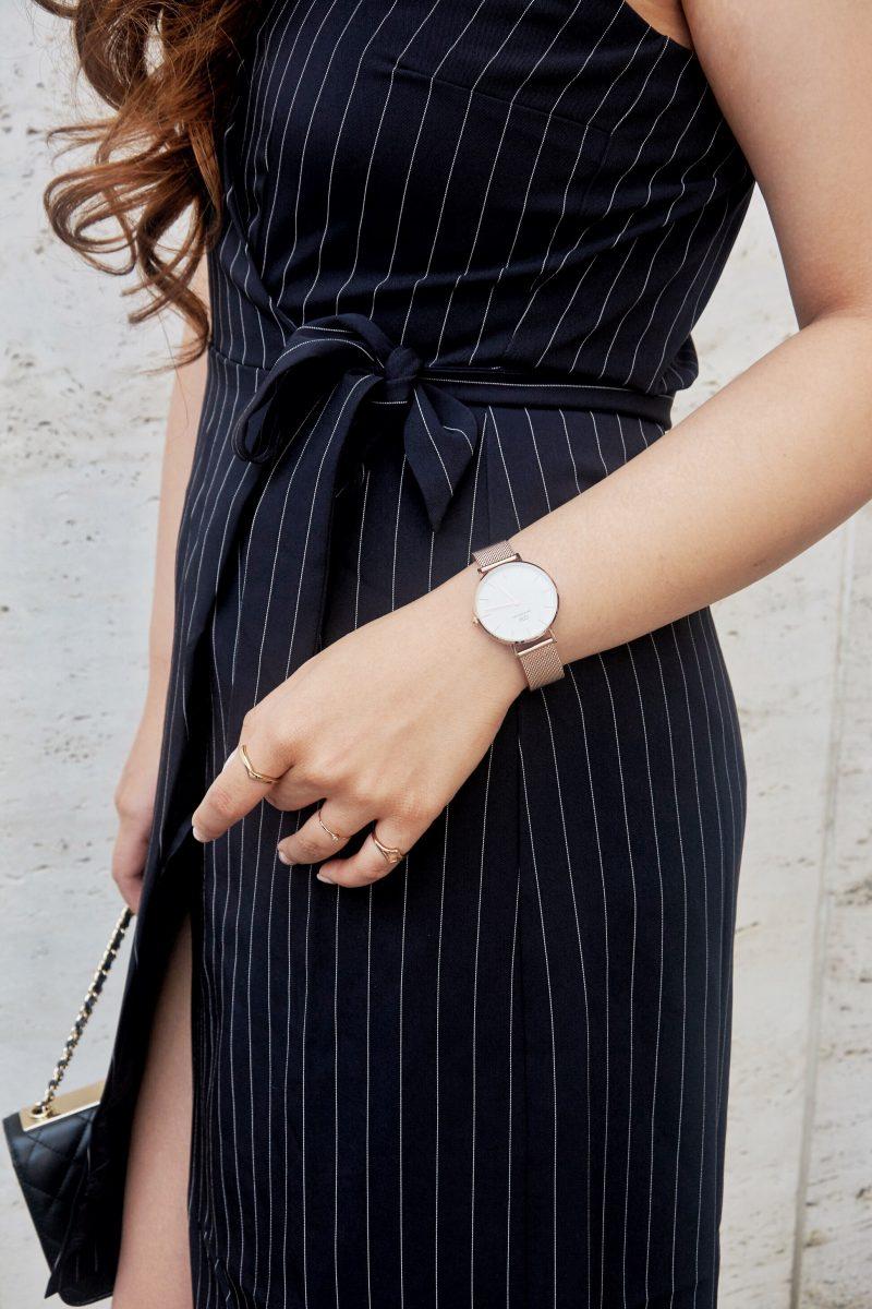 dw classic petite watch wrap dress