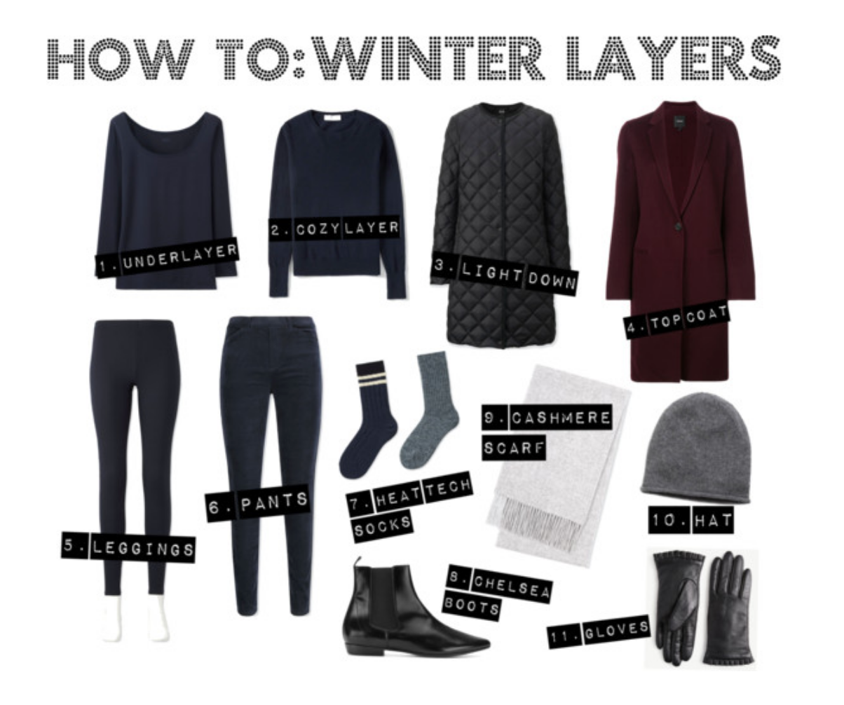how to layer for cold