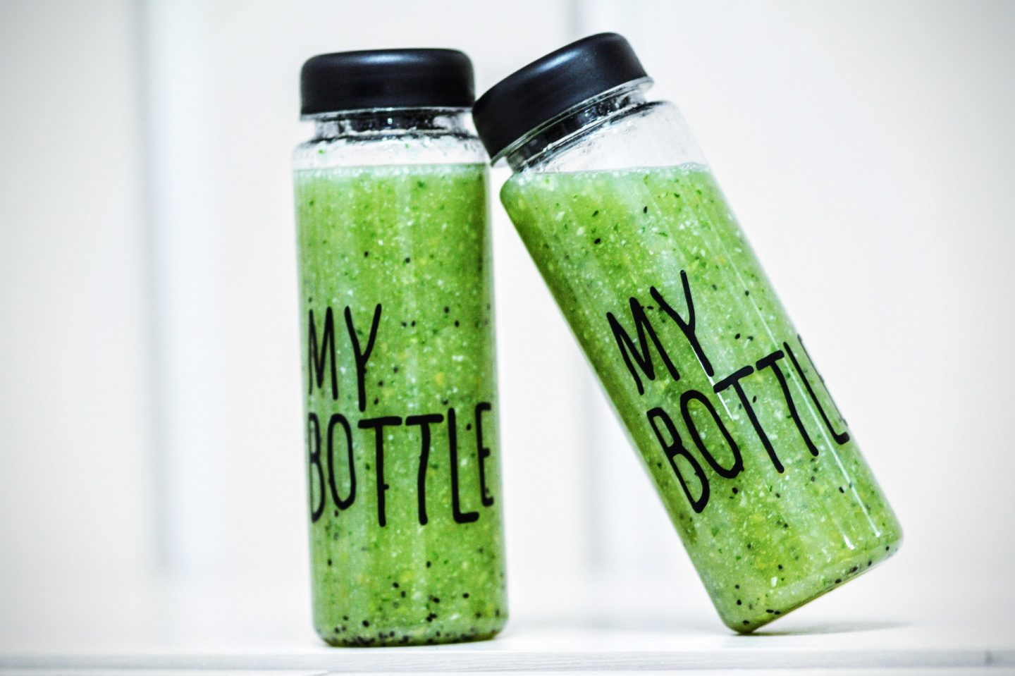 bottled green juice