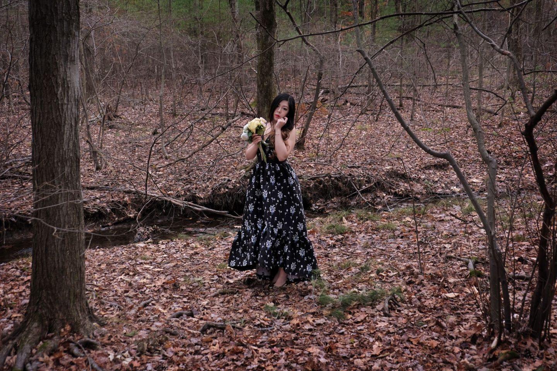 erdem x hm romantic floral gown