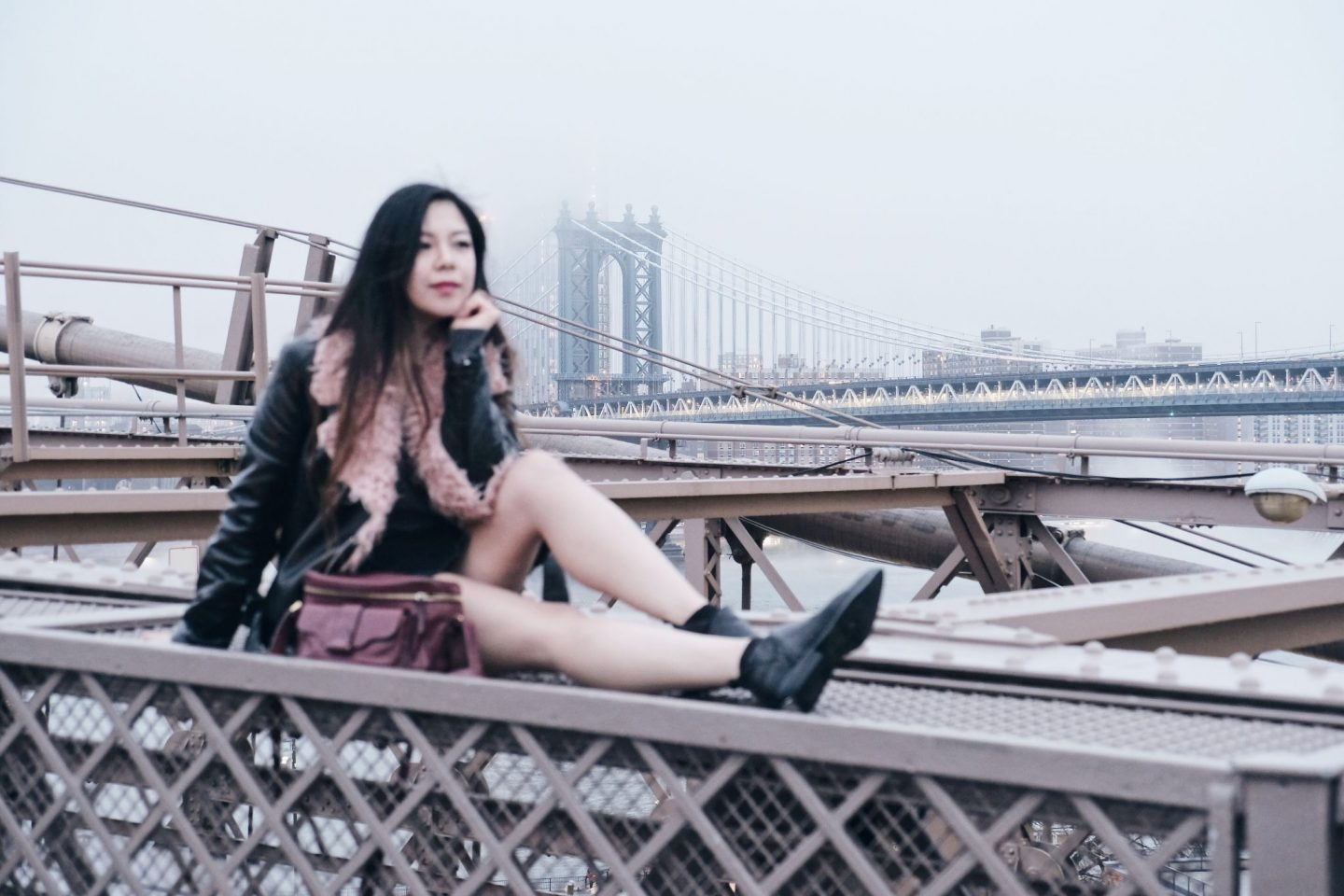 brooklyn bridge blogger new york city