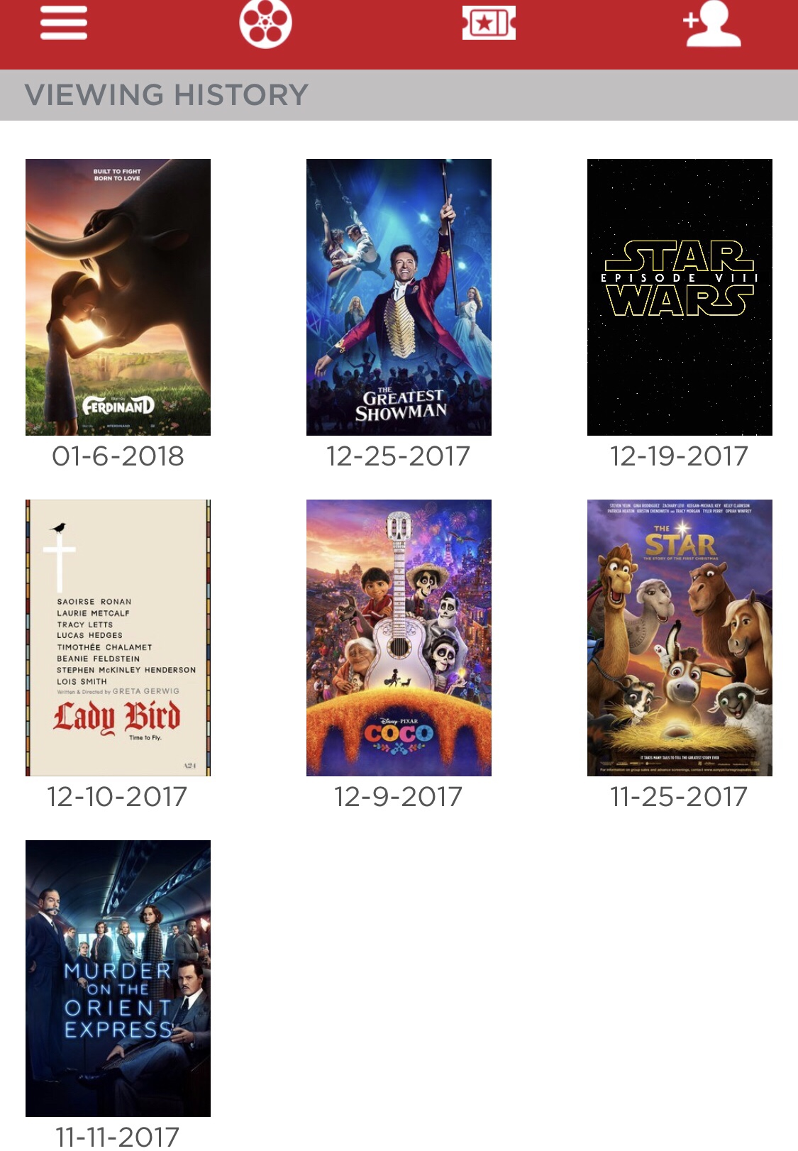 moviepass movie list