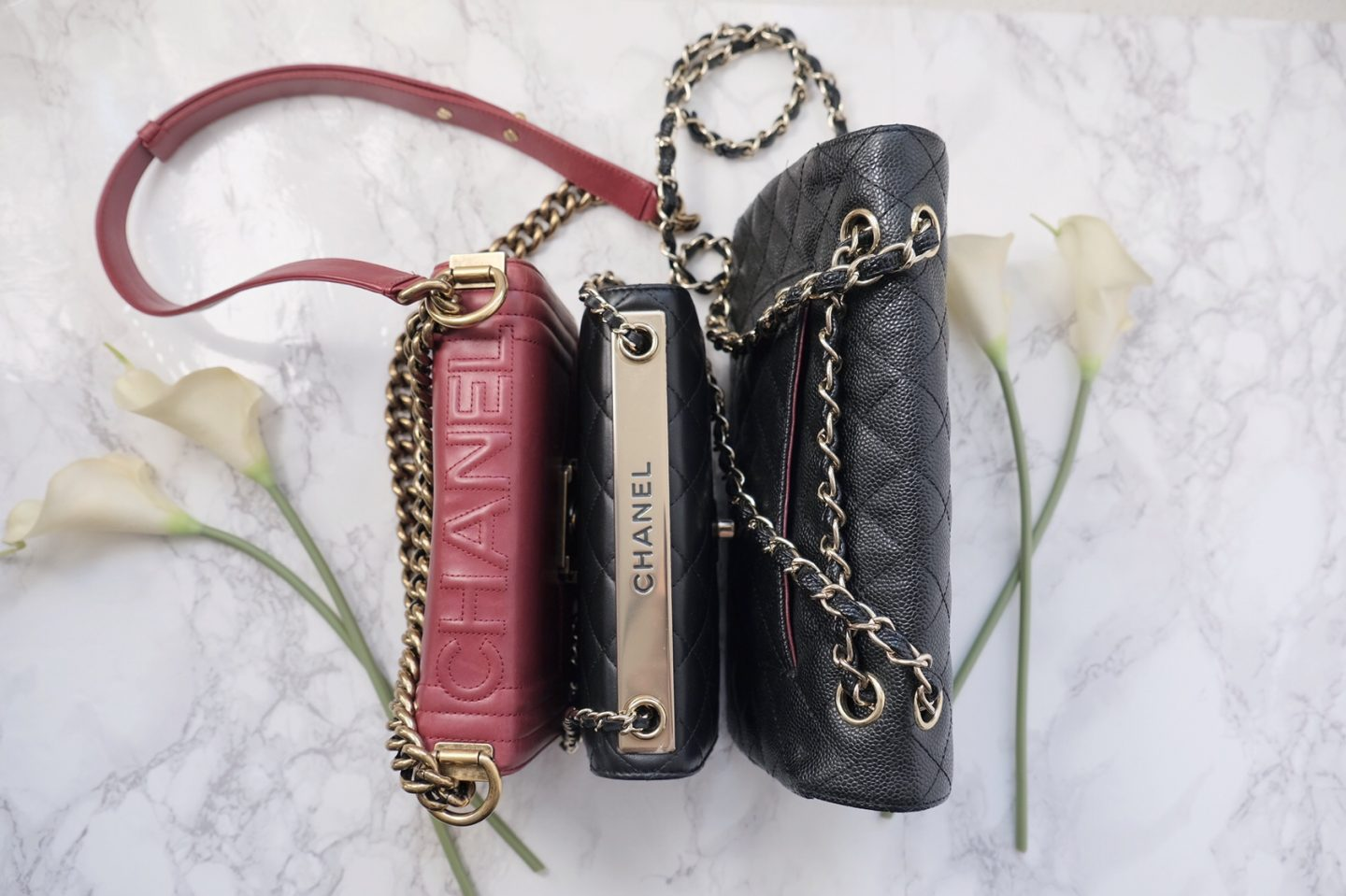 chanel boy-woc-double-flap-side-by-side