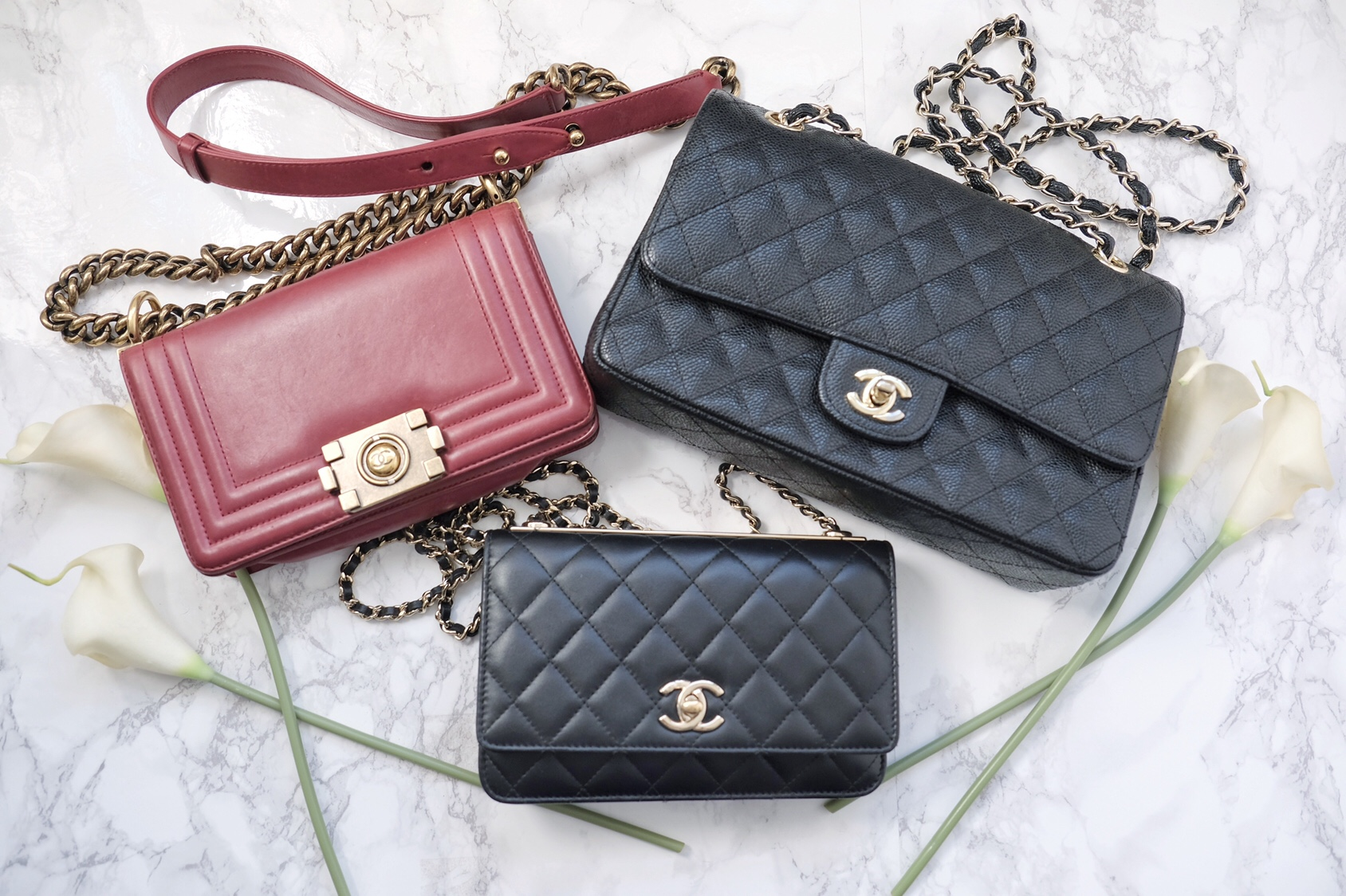 38f2674c6bb Chanel  WOC   Small Bags    Size   Price Comparison - SINCERELY OPHELIA
