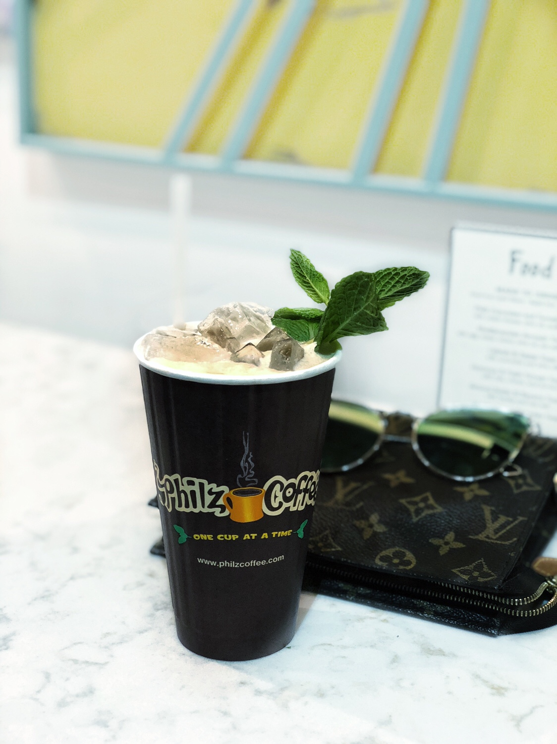 philz coffee mint mojito