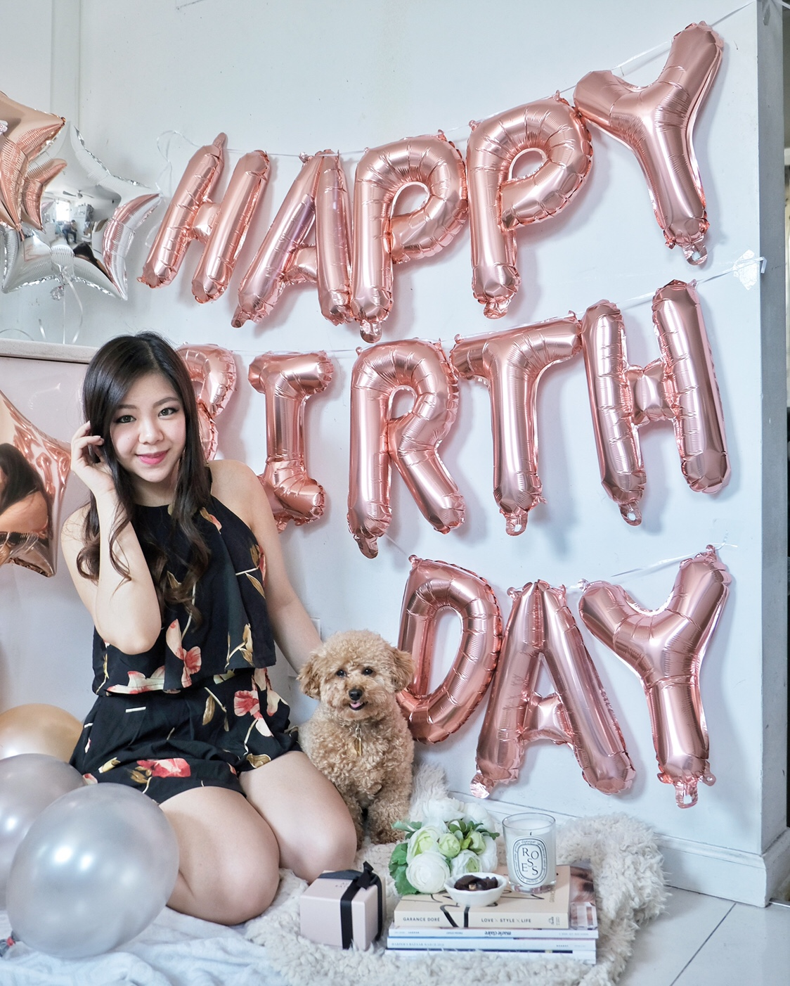 blogger babe blogversary happy birthday toy poodle