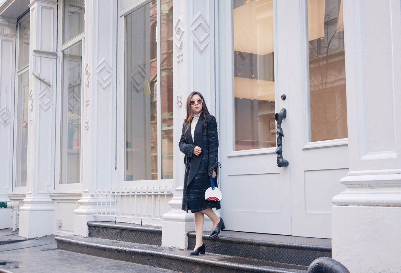 blogger babe soho shopping ootd
