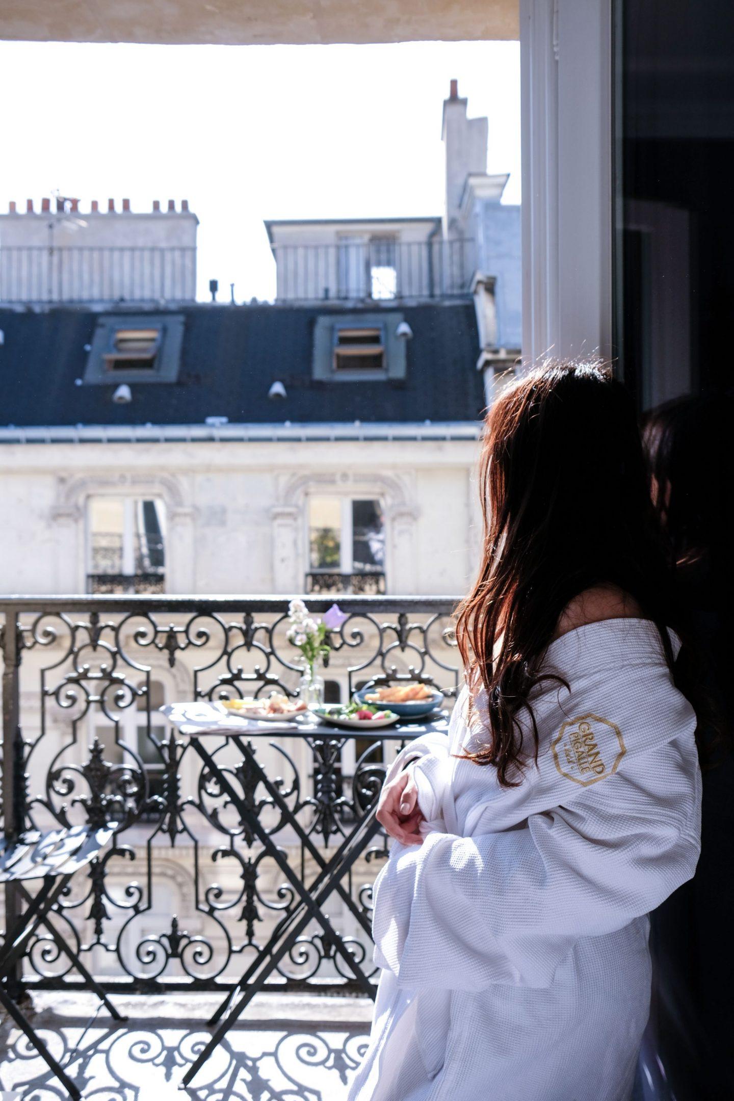 grand pigalle hotel paris blogger