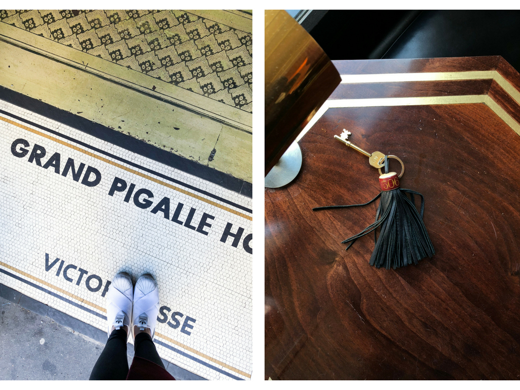 grand pigalle paris hotel keys