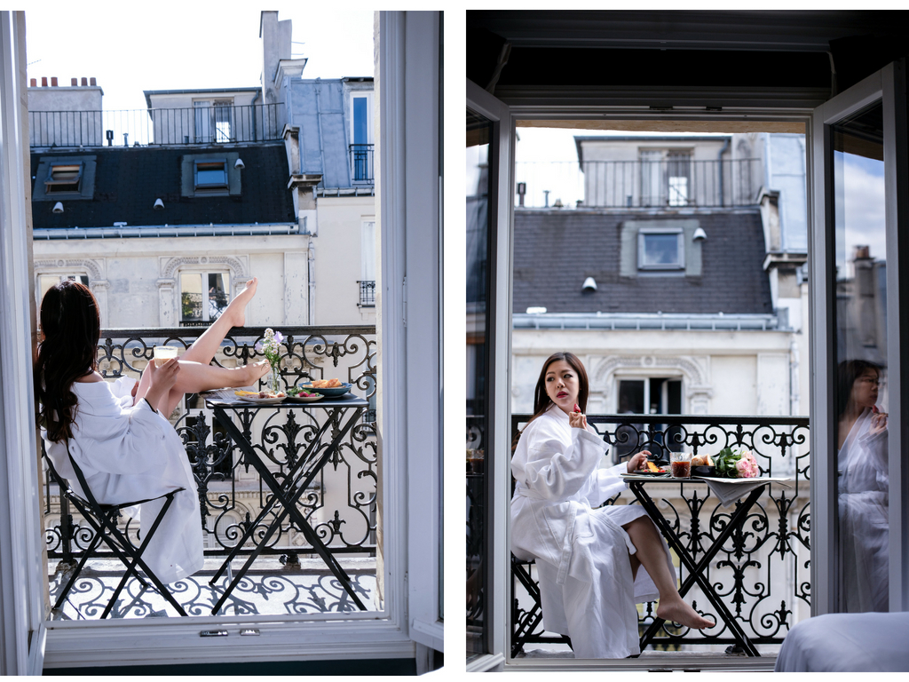 grand pigalle paris hotel balcony