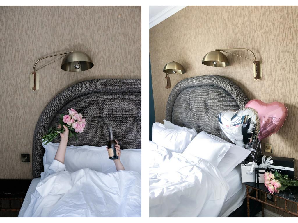 grand pigalle paris hotel bed