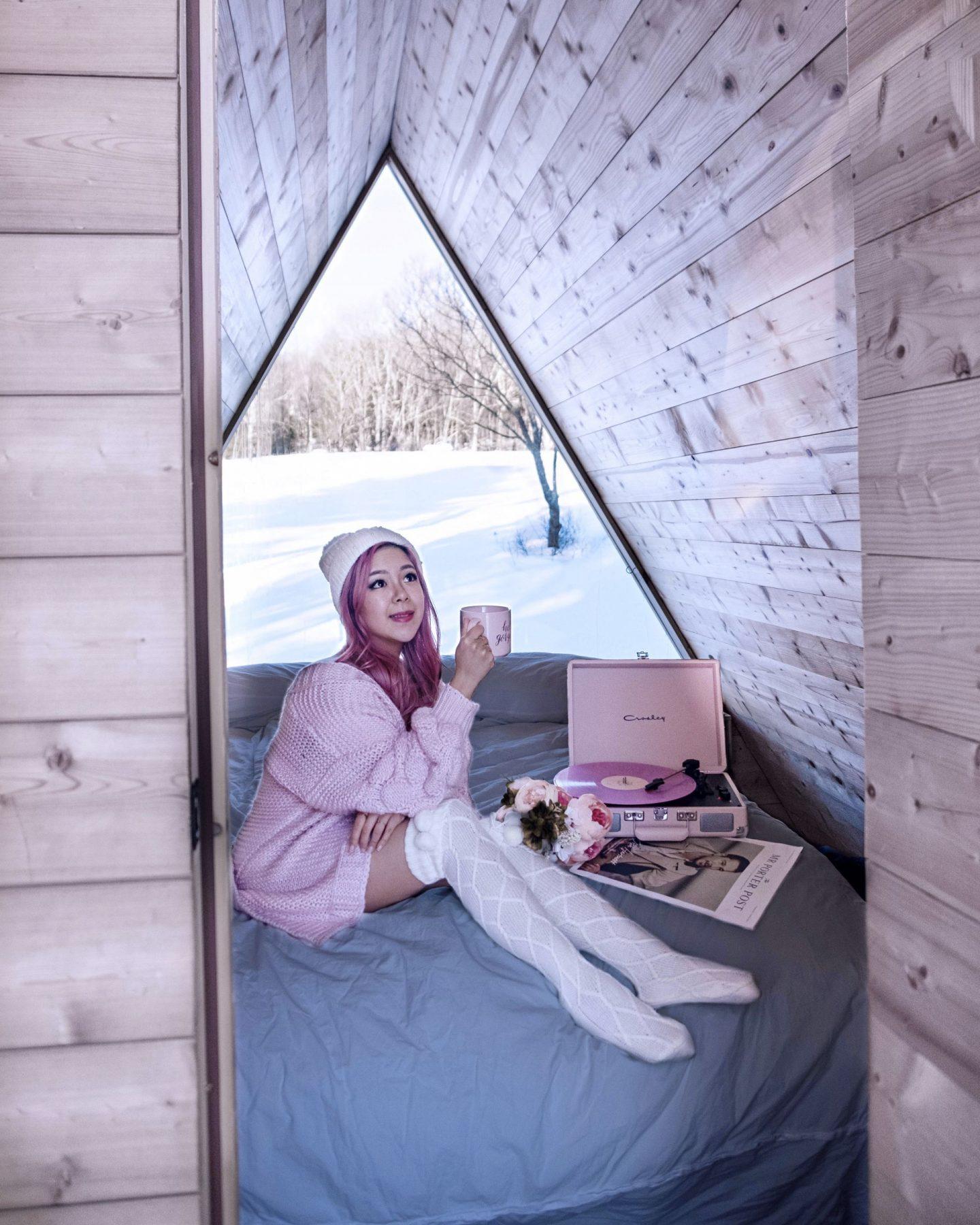 lushna cabin daytime